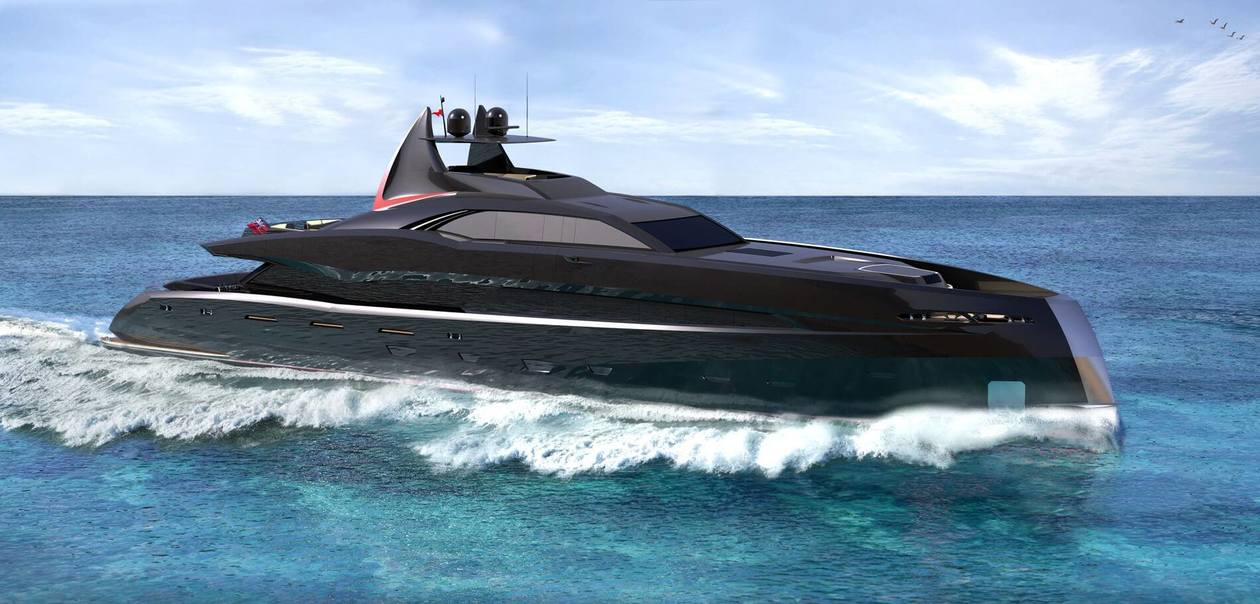 "Icon Yachts Reveal Details on the new superyacht ""The Gotham Project"